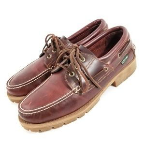 Men's Eastland Boat Shoes size 9D Leather Loafers